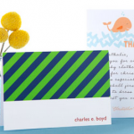 FREEBIE ALERT:  3 free stationery items from Tiny Prints!