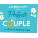 FREEBIE ALERT:  Free Wedding or Engagement card from Treat!