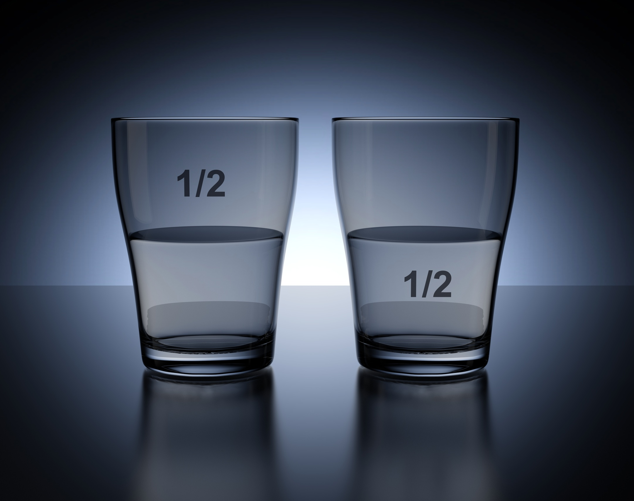 half full or half empty Definition of is the glass half empty or half full in the idioms dictionary is the glass half empty or half full phrase what does is the glass half empty or half full expression mean.