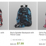 Kids Backpacks for just $6.39 shipped + TAX FREE for Texas!