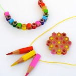 Back To School Craft: Colored Pencil Jewelry