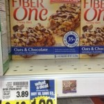 Fiber One Chewy Bars as low as $.99 each at Kroger!