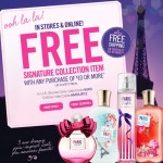 Bath & Body Works FREE Signature Collection item coupon (purchase required)