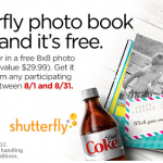 My Coke Rewards:  FREE Shutterfly photo book!