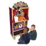 Melissa & Doug Deluxe Puppet Theater only $30.31 shipped (regularly $89.99)
