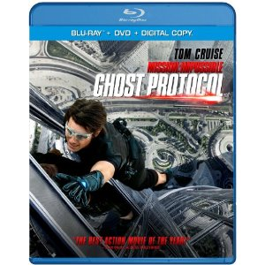Mission Impossible Ghost Protocol Blu Ray DVD combo pack