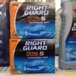 Right Guard soap only $.97 after coupon!