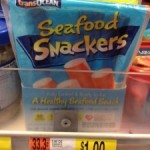 Sea Food Snackers $.50 each after coupon at Walmart!