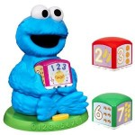 Sesame Street Cookie Monster Find & Learn Number Block for just $9!