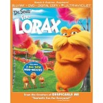 The Lorax Blu Ray/DVD Combo Pack for $12.99! (regularly $34.98)