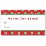 Vistaprint:  100 business cards or holiday gift tags for $5 shipped!