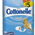 Cottonelle 12 roll bathroom tissue for $3.45 at Walgreens!