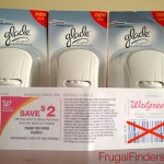 Glade Scented Oil Warmers: $ 2 moneymaker at Walgreens!