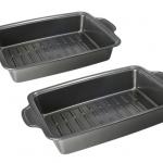 Housewares Deals:  2 Roshco Rectangular Roasting Pans for $19! ($42 value)