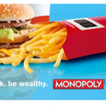 McDonald's Monopoly Game:  NEW codes!
