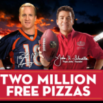 Papa John's Pizza:  win FREE Pizza!