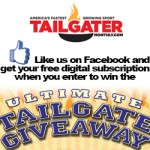 FOOTBALL FANS:  Win the Ultimate Tailgateul giveaway!