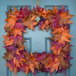 Fall Craft: Fall Wreath on the Cheap