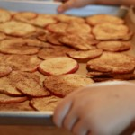 Cooking With Kids Thursday: Baked Apple Cinnamon Chips