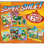 Veggie Tales DVD Super Sale:  DVDs as low as $6.97!