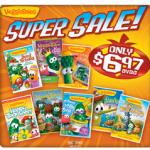 Veggie Tales DVD Super Sale:  DVDs as low as $6.97!