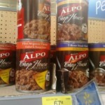 Alpo Canned Dog Food for $.52 each after coupon!