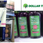 Dollar Tree Freebies:  Free Garnier Fructis and Maybelline eyeliner!