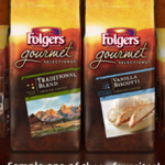 FREE Folgers Gourmet Coffee Sample!