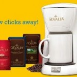 Gevalia:  4 boxes of Gevalia coffee plus a personal coffee maker for $9.99 shipped!