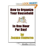 FREE Kindle Book:  How to Organize Your Household in One Hour Per Day!