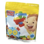 Mega Bloks 90 piece bag just $10.99!