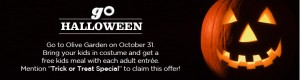 Huge List Of Halloween Freebies And Deals