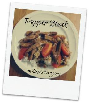 Tasty Pepper Steak Recipe