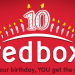 FREE Redbox Movie or Game Rental (10/10 only)
