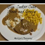 Slow Cooker Cube Steak and Gravy Recipe