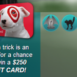 Target Instant Win Game:  win up to $250 in Target gift cards!