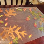 Fall Craft: Autumn Leaves Placemat