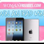 Win an iPad Mini from Woman Freebies!