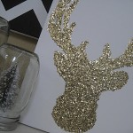 Winter Craft: Glitter Reindeer