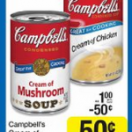 Kroger Mega Sale: Campbell's Cream soups for $.25 each!