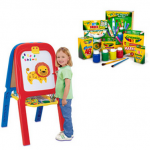 Crayola 3-in-1 Easel and Art Set Bundle for $29!