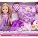 Disney Princess Rapunzel Toddler Doll and Dress Combo for $19.99!