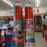 Dora or Sponge Bob Wrapping Paper FREE at Dollar Tree stores!