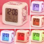 Hello Kitty Alarm Clock for $4.46 SHIPPED!