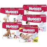 Target:  2 packs of diapers PLUS wipes for as low as $4.98 total!