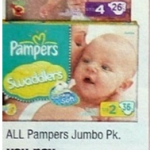 Pampers Baby Dry Diapers only $3.99 per jumbo pack!