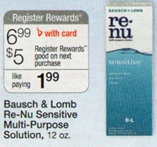 Renu Contact Solution Travel Size