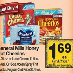 General Mills Cereals as low as $.69 per box PLUS FREE movie tickets!