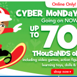 Toys 'R Us Cyber Monday Deals Live Online Now!