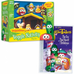 Veggie Tales Nativity set + DVD for $18.74!